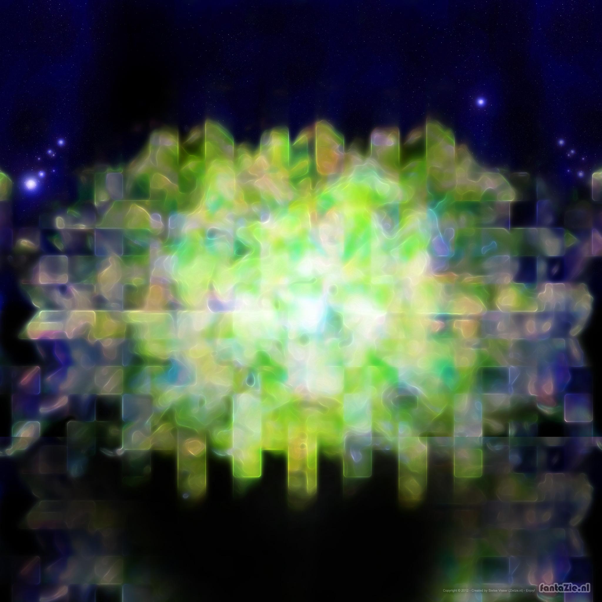 Spirit Gate iPad3 Retina Wallpaper 2048x2048