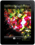 Color Burst iPad Wallpaper 1024x1024
